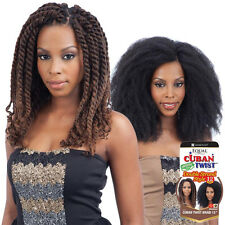 """Freetress Equal Cuban Twist Braid for Double Strand Style 12"""""""