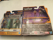 MARVEL Guardians of the Galaxy twin pack Drax & Korath + missile launcher