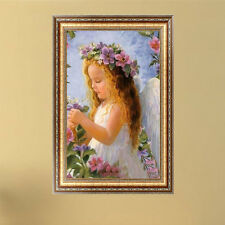 Cute Angel Girl 5D Diamond Painting DIY Embroidery Cross Stitch Craft Home Decor