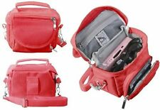 Red  Travel Bag Carry Case for Nintendo DS Lite / DSi / DSi XL / 3DS / 3DS XL