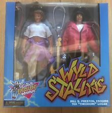 NECA BILL AND & TED'S EXCELLENT ADVENTURE WYLD STALLYNS FIGURES 2 PACK INSTOCK