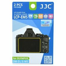 JJC LCP-EM5 LCD Screen Protector Guard Film Cover for Olympus OM-D E-M5