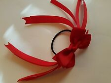 Madelienas Handmade  BUY 2x & Get 1 FREE STRAND OF RIBBONS w/ Bow Hair Tie