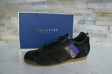 SERAFINI LUXURY Sneakers trainers Size 41 Lace up Shoes Scarpe Animal new