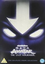 AVATAR THE LAST AIRBENDER COMPLETE 3 BOOK COLLECTION 1 2 & 3 DVD R4 1-3