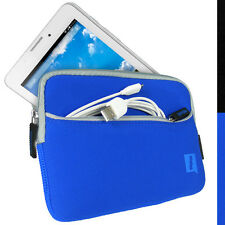 "Blue Neoprene Sleeve Case for Acer Iconia A1-713HD 7"" Tablet Pouch Cover"