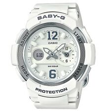Casio Baby-G BGA210-7B4 White Silver Digital Analog Women's BGA-210-7B4 Watch