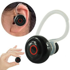 Mini Wireless Stereo Bluetooth Headset Kopfhörer Ohrbügel für iPhone Samsung LG