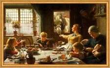 One of the Family Frederick George Cotman Pferde Mahl Esstisch Kinder B A2 01949
