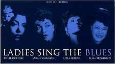 LADIES SING THE BLUES ~ NEW SEALED 4CD SET HOLIDAY, VAUGHAN, HORNE + FITZGERALD