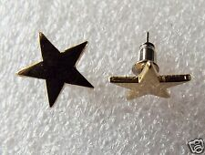 Pair of Gold Plated Star Stud earrings for pierced ears