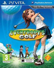 Everybody's Golf (PS VITA) New & Factory Sealed