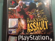 WCW Backstage Assault Sony PlayStation 1 PS1/PSX Game - Electronic Arts