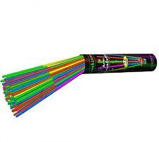 100 zweifarbige multicolor Premium Arm-Knicklichter (205x5mm)