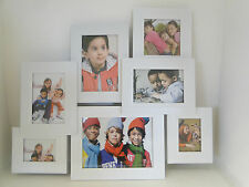 Multi photo frame x 7, White, Bedroom, Home, Hallway, Dining Room, Hallmark