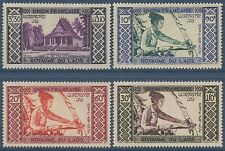 LAOS PA N°1/4**  Métier, Tisserand TB 1952,   Weaving Set MNH