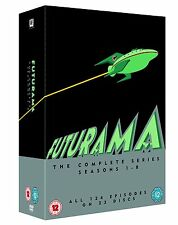 """FUTURAMA THE COMPLETE SERIES COLLECTION 1-8 DVD BOX SET 23 DISCS R4 """"NEW&SEALED"""""""