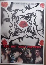 red hot chili peppers poster blood sugar sex magik in Pomona
