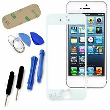 White Front Replacement Part LCD Glass Screen Repair Tools for iPhone 5S 5C 5SE