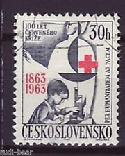 CSSR Tschechoslowakei Nr. 1411  gest. Rotes Kreuz