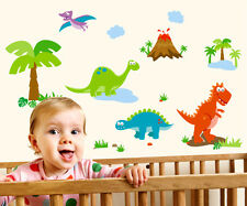 Large Dinosaurs Wall Stickers Removable Kids Nursery Room Decal Home Decor