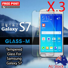 "3 X Brand New Tempered Glass For Samsung Galaxy S7 5.1"" Free Shipping From Melb"