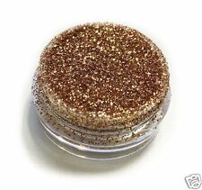 Gold Caramel Eye Shadow Glitter Sparkling Dust Body Face Nail Party Make-Up