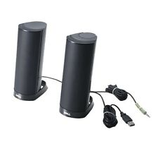 Genuine Original Dell AX210 Multimedia Stereo Speakers USB Powered PC Laptop NEW