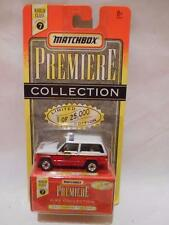 """Matchbox 1996 Premiere Collection series #7 """"JEEP CHEROKEE FIRE CHIEF"""" New"""