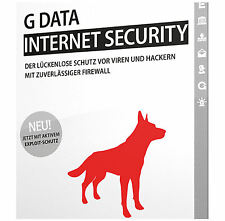 G DATA Internet Security 2015 / 2016 *3-PC / 1-Jahr* / DEUTSCH / GDATA / KEY