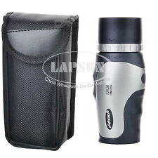 10X 30mm Monocular Telescope for Bird Watching Camping Hiking W/ Carrying Case A