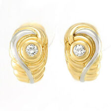 Clipstecker mit 2 Brillanten 0,40 ct in 750/18K Gold - 12 g