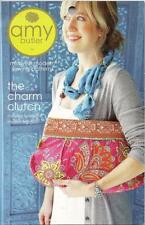 Amy Butler - Sewing PATTERN - THE CHARM CLUTCH - Hand Bag-  2 Styles