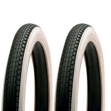 Pair of White Wall Raleigh Tyres - New 16 x 1.75 / 2 For Junior Bike / BMX