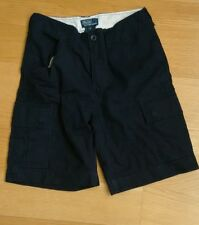 Ralph Lauren polo Cargo Short Military Navy blue Size 8 years old kid.
