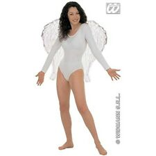 67cmx 64cm White Bendable Feather Wings - Large Fairy Angel 67x Fancy Dress