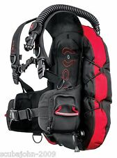 Hollis L.T.S. scuba diving BCD - LTS back-inflate light weigt size MD