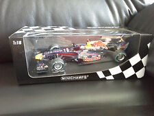 S.Vettel Minichamps 1:18 Red Bull Racing RB6  Abu Dhabi 2010 world champion