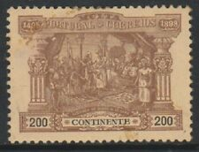 Portugal - 1898, 200r Brown/Buff Postage Due - L/M - SG D391