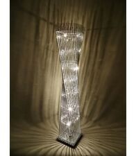 Modern Elegant Cayan Tower Wire Silver LED Floor Lamp 150cm Tall -Home Decor