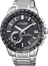 CITIZEN MENS STAINLESS STEEL ECO-DRIVE SATELLITE WAVE WATCH CC3005-51E