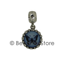 NEW Pandora Butterfly Cameo Drop Charm Pendant Silver ALE 790865CAM Retired Rare