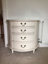 Laura Ashley 'Clifton' Ivory Half Moon Chest of Drawers