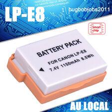New LP-E8 Li-ion Battery for Canon EOS 550D 600D 650D 700D X4 Rebel T2i LC-E8 AU