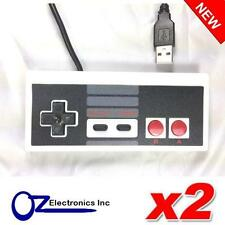 2 x NES Nintendo USB Controller for PC Brand New Free Shipping from Australia