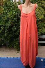 NEW Autograph SALMON Trapeze DRESS Size 18. $59.95 Peaked Hemline DRAPED STYLE