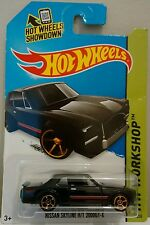 Hot Wheels Classic Nissan Skyline H/T 2000GT-X Black 1:64 Long Card