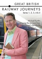 Great British Railway Journeys Series 1 - 5 season 1 2 3 4 5 Region 4 New DVD