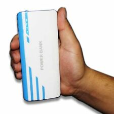 Power Bank 30000mAh Externer 2-Fach USB Ladegerät Zusatzakku Batterie Akku