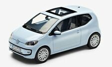 NEW GENUINE VW UP 2 DOOR LIGHT BLUE 1:43 SCALE DIECAST MODEL CAR
